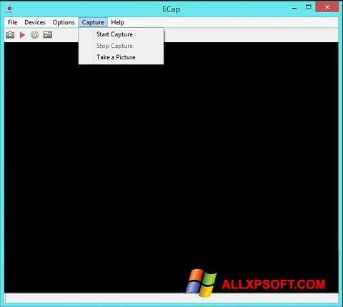 צילום מסך ECap Windows XP