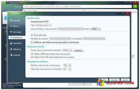 צילום מסך MediaGet Windows XP