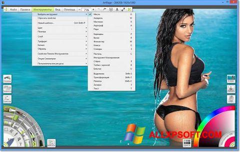 צילום מסך ArtRage Windows XP