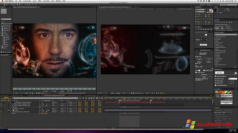 צילום מסך Adobe After Effects Windows XP