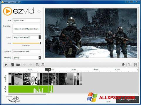 צילום מסך Ezvid Windows XP