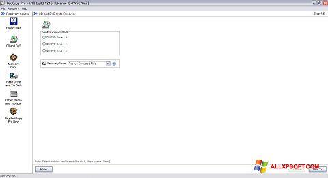 צילום מסך BadCopy Pro Windows XP
