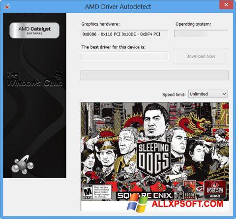 צילום מסך AMD Driver Autodetect Windows XP