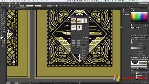 צילום מסך Adobe Illustrator Windows XP