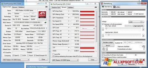 צילום מסך ATI Tray Tools Windows XP