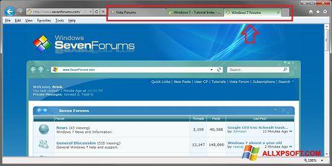 צילום מסך Internet Explorer Windows XP