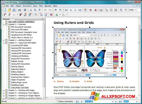 צילום מסך Foxit Advanced PDF Editor Windows XP