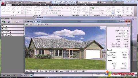 צילום מסך AutoCAD Windows XP