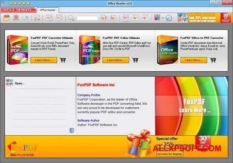 צילום מסך Doc Reader Windows XP