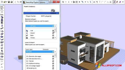 צילום מסך ArchiCAD Windows XP