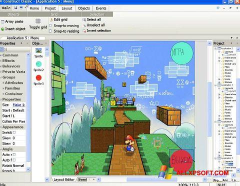 צילום מסך Construct Classic Windows XP