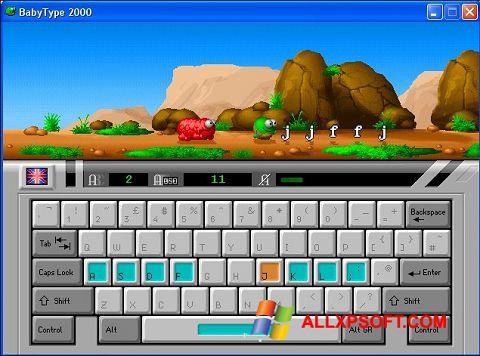 צילום מסך BabyType Windows XP