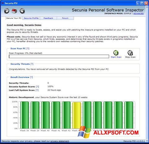 צילום מסך Psi Windows XP