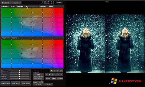 צילום מסך 3D LUT Creator Windows XP