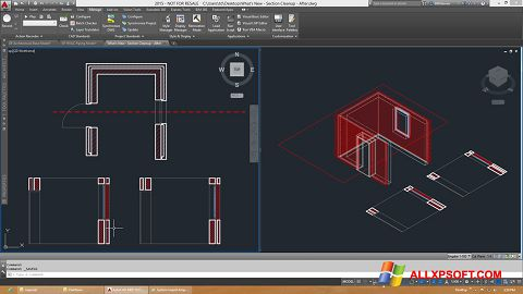 צילום מסך AutoCAD Architecture Windows XP