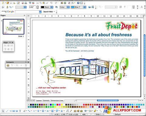 צילום מסך Apache OpenOffice Windows XP