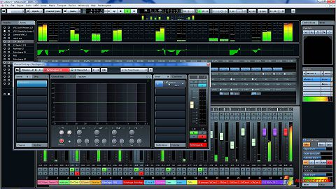 צילום מסך Cubase Windows XP