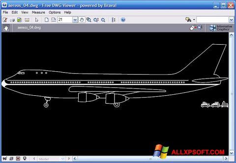 צילום מסך DWG Viewer Windows XP