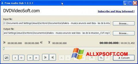 צילום מסך Free Audio Dub Windows XP