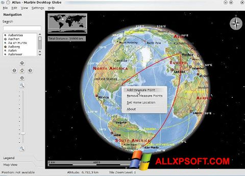 צילום מסך Marble Windows XP