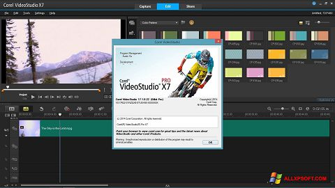 צילום מסך Corel VideoStudio Windows XP