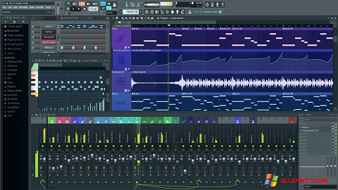 צילום מסך FL Studio Windows XP