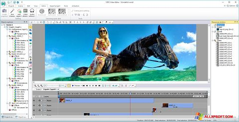 צילום מסך Free Video Editor Windows XP