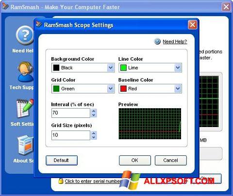 צילום מסך RamSmash Windows XP