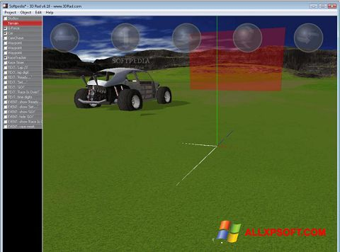 צילום מסך 3D Rad Windows XP