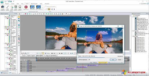 צילום מסך VSDC Free Video Editor Windows XP