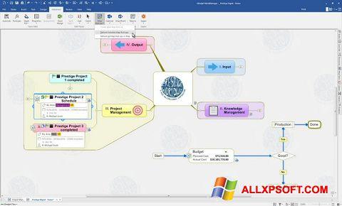 צילום מסך MindManager Windows XP