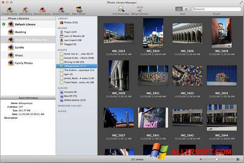 צילום מסך iPhoto Windows XP