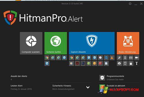 צילום מסך HitmanPro Windows XP