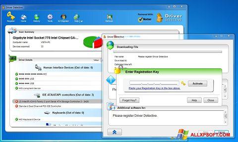 צילום מסך Driver Detective Windows XP