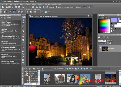 צילום מסך PaintShop Pro Windows XP