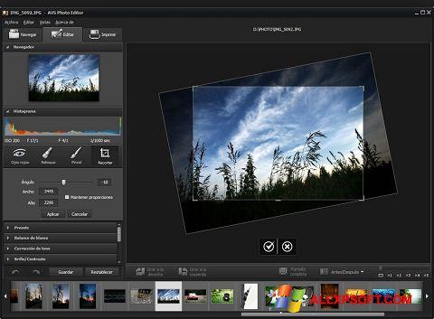 צילום מסך Photo! Editor Windows XP