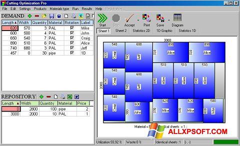 צילום מסך Cutting Windows XP