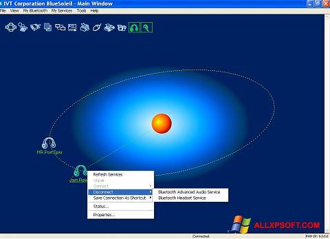 צילום מסך BlueSoleil Windows XP