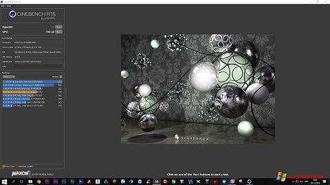 צילום מסך CINEBENCH Windows XP