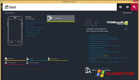 צילום מסך MOBILedit! Windows XP