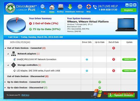 צילום מסך DriverAgent Windows XP