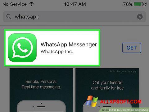 צילום מסך WhatsApp Windows XP