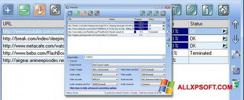 צילום מסך VideoGet Windows XP