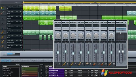 צילום מסך MAGIX Music Maker Windows XP