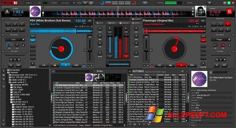צילום מסך Virtual DJ Windows XP