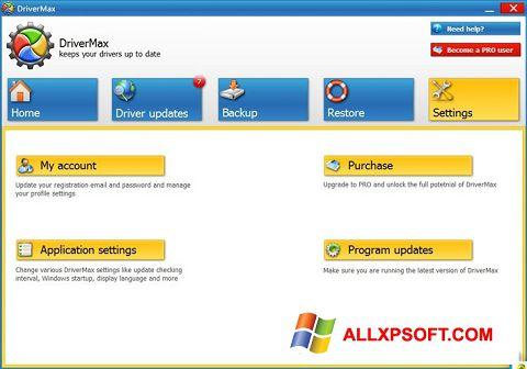 צילום מסך DriverMax Windows XP