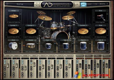 צילום מסך Addictive Drums Windows XP