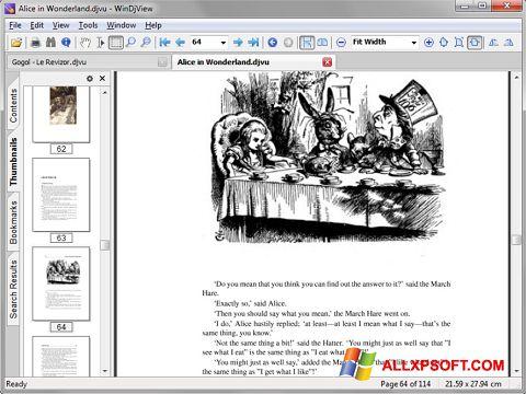 צילום מסך DjView Windows XP