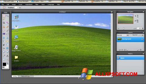 צילום מסך LightShot Windows XP