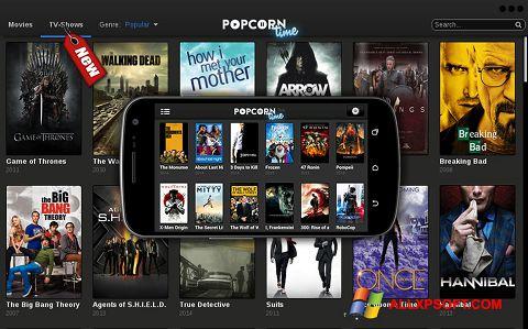 צילום מסך Popcorn Time Windows XP